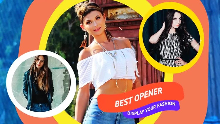 Fashion Glamour: After Effects Templates