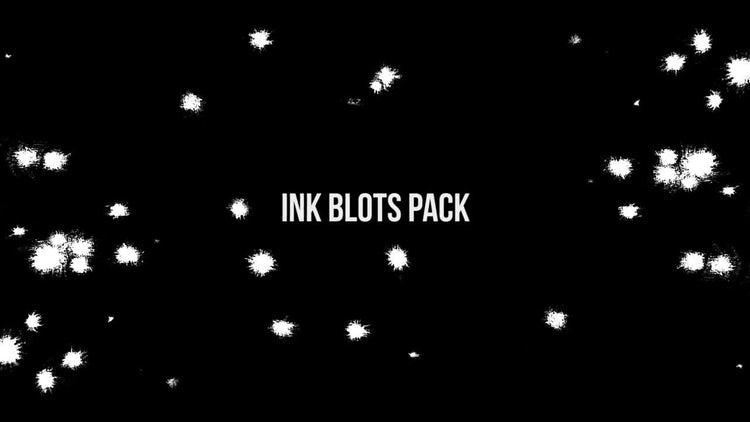 Ink Blots Pack: Stock Video