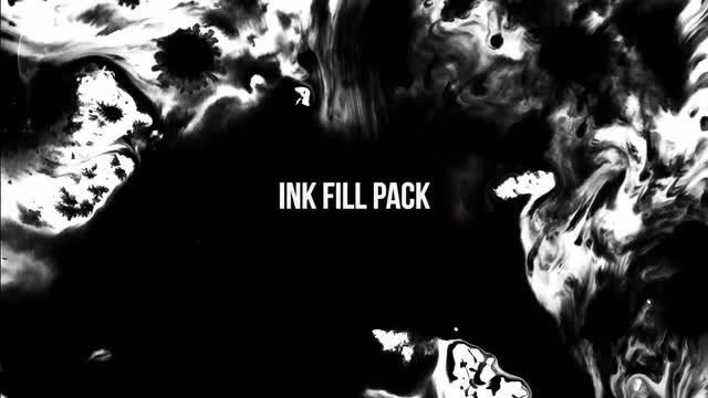 Ink Splatter Pack - Stock Video | Motion Array