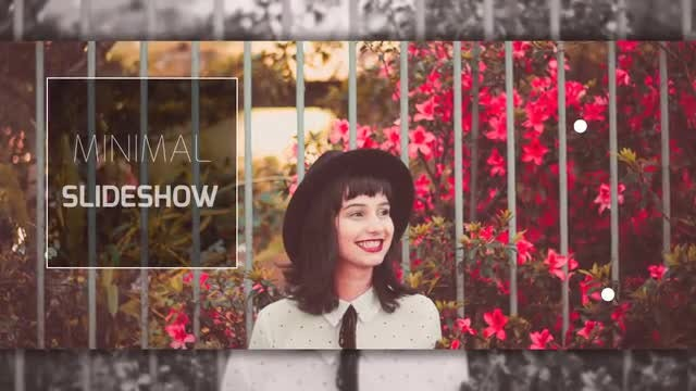 Minimal Opener Slideshow: After Effects Templates