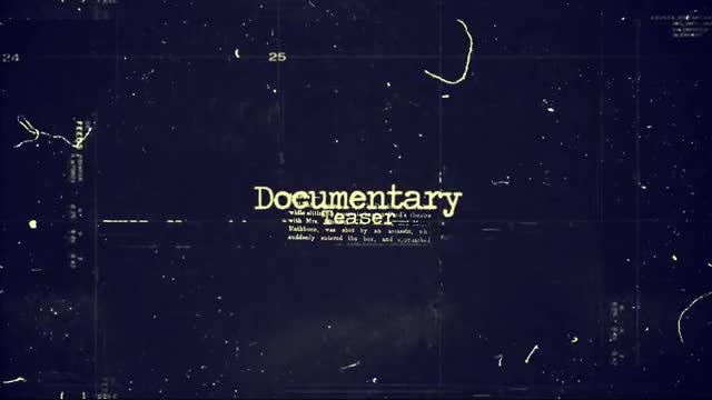 Documentary Teaser: After Effects Templates