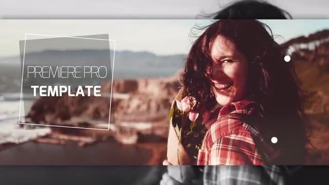 Minimal Opener Slideshow: Premiere Pro Templates