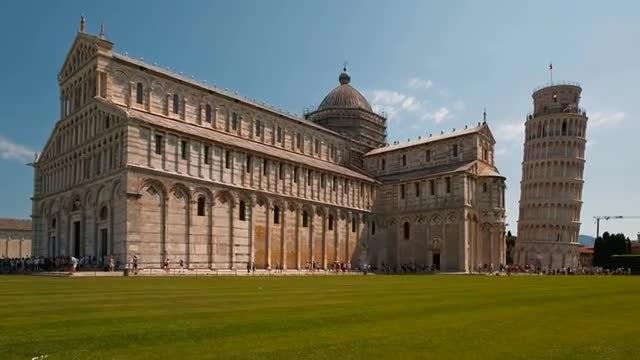Pisa And Piazza Dei Miracoli: Stock Video