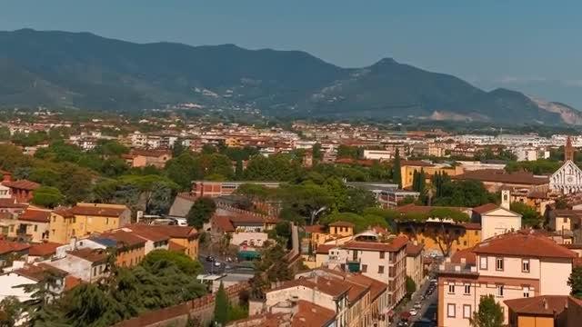 Bird's Eye View - Pisa, Italy: Stock Video