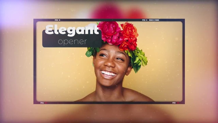 Cinematic Photo Opener: After Effects Templates