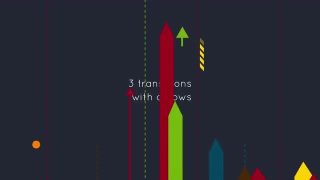 Arrows Transitions: After Effects Templates