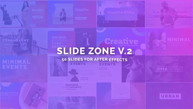Slide Zone v.2: After Effects Templates