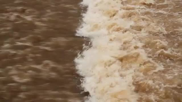 Dirty River In The City: Stock Video