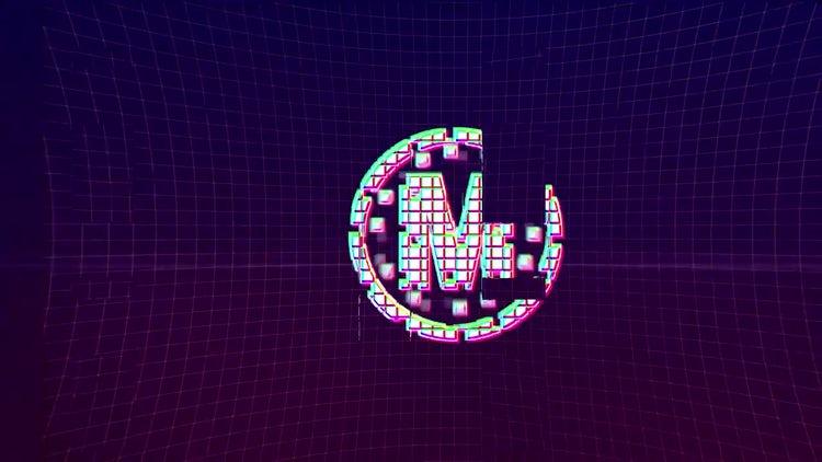 Hi-Tech Glitch - Retro Logo: After Effects Templates
