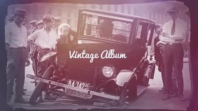 Vintage Album: Premiere Pro Templates