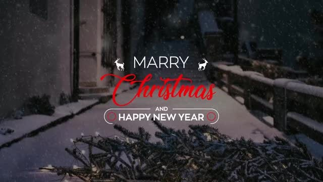 Christmas Titles 4k: Motion Graphics Templates