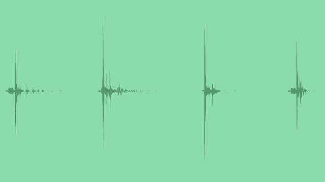 Thump Log Impacts: Sound Effects