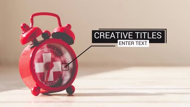 10 Call Outs Titles: After Effects Templates