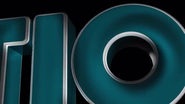 3D Text Animation: Motion Graphics Templates