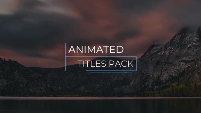 Fast Corporate Titles & Lower Thirds 4K: Premiere Pro Templates