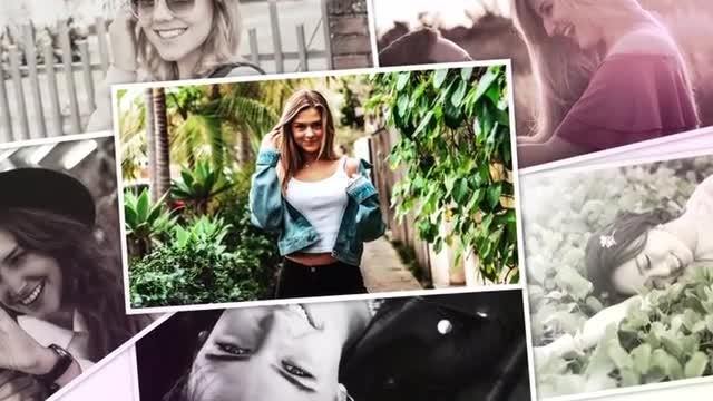 Photo Collection Slideshow: After Effects Templates
