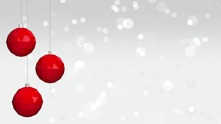 Christmas Background Loop: Stock Motion Graphics