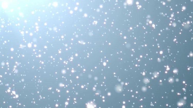 Glistening Snow: Motion Graphics