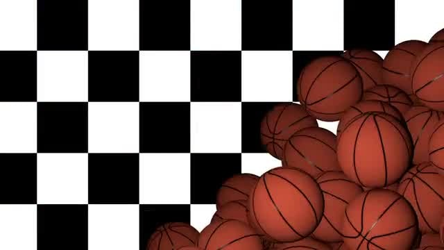 Basketball Transition: Stock Motion Graphics