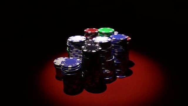 Casino Chips: Stock Video