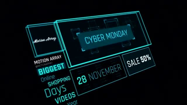 Cyber Monday Promo: After Effects Templates