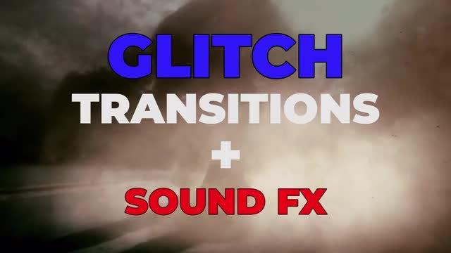 Glitch Transitions: Premiere Pro Templates