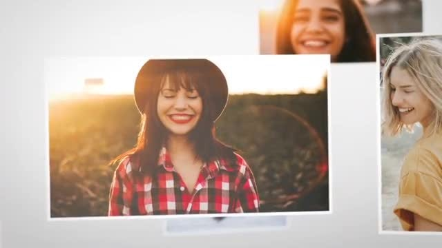 Gentle Photo Slideshow: After Effects Templates