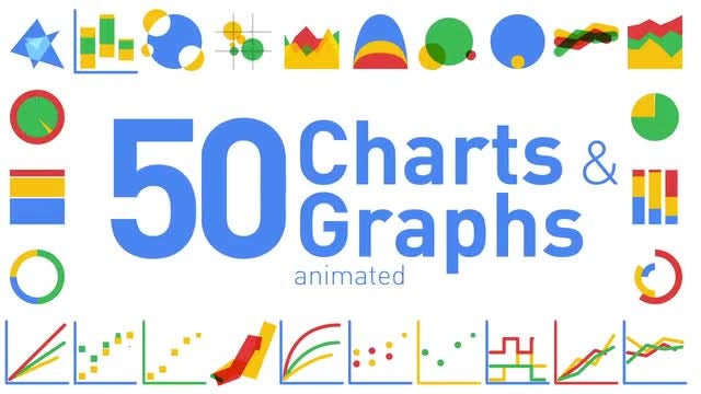 Animated Charts and Graphs: After Effects Templates