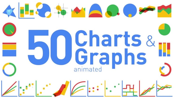 animated charts and graphs after effects templates motion array