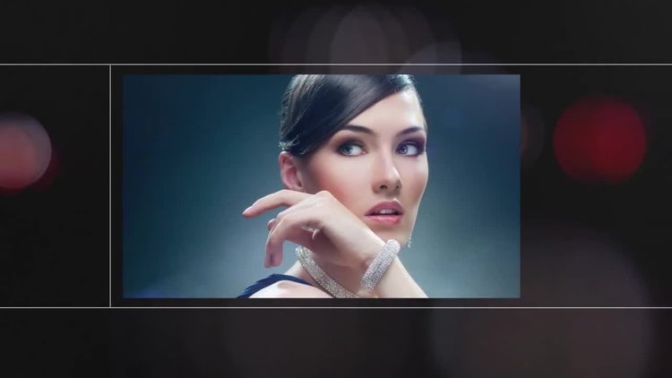 Bokeh Grid: After Effects Templates