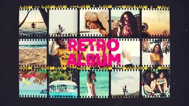 Retro Album: Premiere Pro Templates