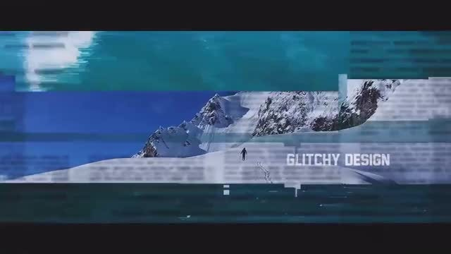Digital Distortion Opener: After Effects Templates
