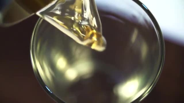 Apple Juice Poured Into Glass: Stock Video