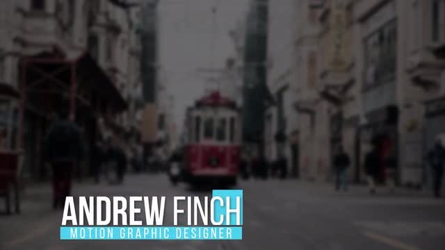 Minimal Lower Third: After Effects Templates