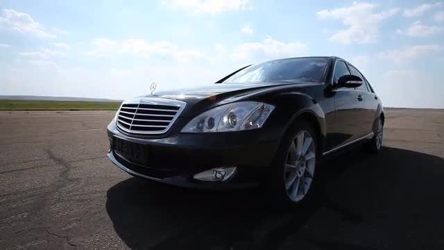 Black Luxury Car: Stock Video