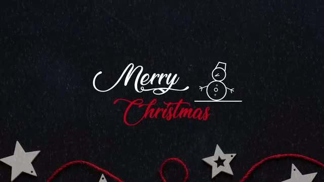 Christmas Titles 4k V.2: After Effects Templates