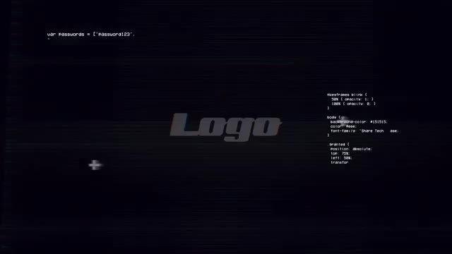 Logo | Glitch: Premiere Pro Templates