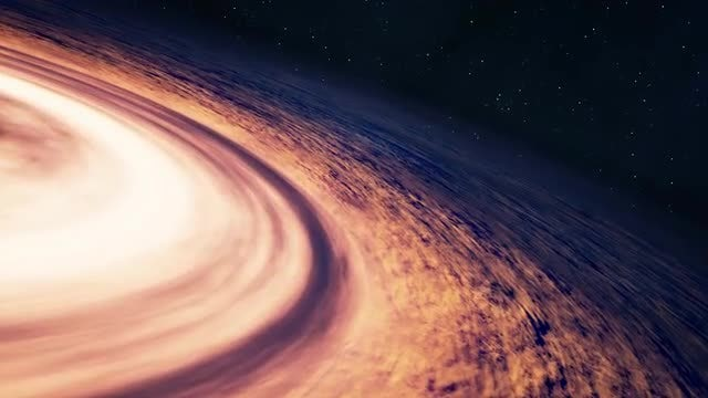 Flying Near A Black Hole: Stock Motion Graphics