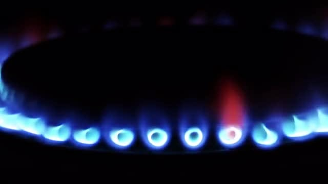Gas Stove: Stock Video
