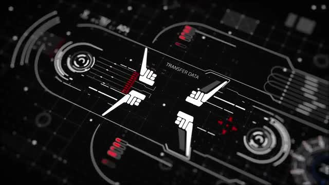Data HUD Interfaces: After Effects Templates