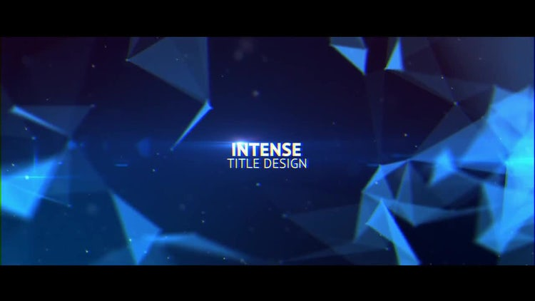 Intense Title Design: After Effects Templates