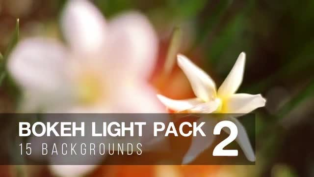 Bokeh Light Pack 2: Stock Motion Graphics