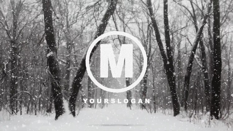 Snow Logo: After Effects Templates