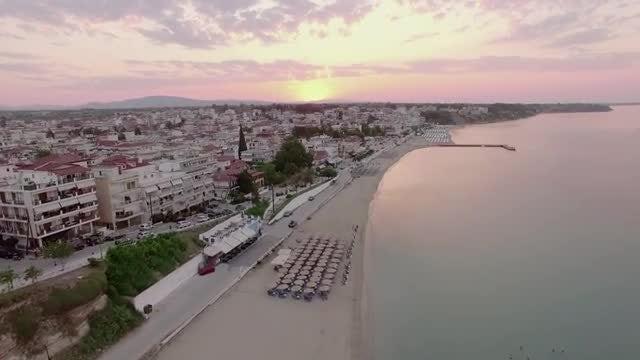 Nea Kallikratia: Stock Video