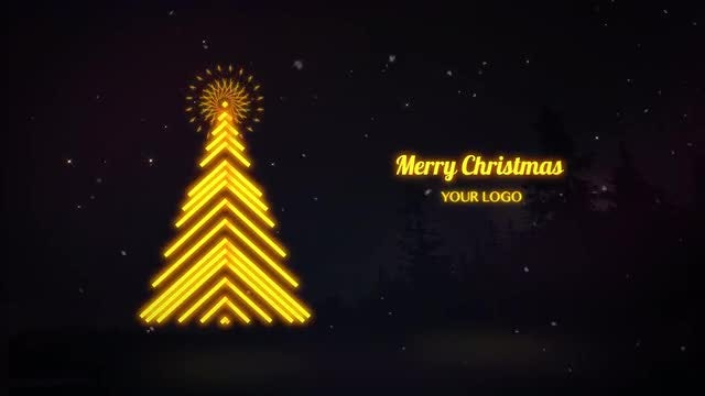 Neo Christmas Greeting: After Effects Templates