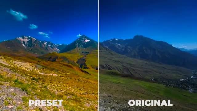 Cinematic Color Presets: Premiere Pro Presets