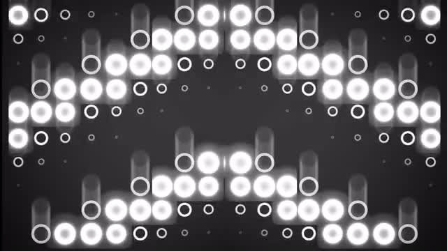 VJ Circle Light Effects Pack: Stock Motion Graphics