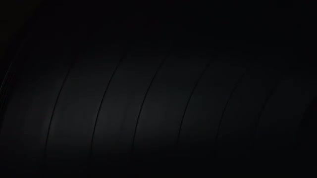 Spinning Vinyl Record Closeup: Stock Video