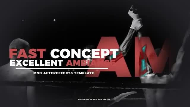 Sport Opener: After Effects Templates