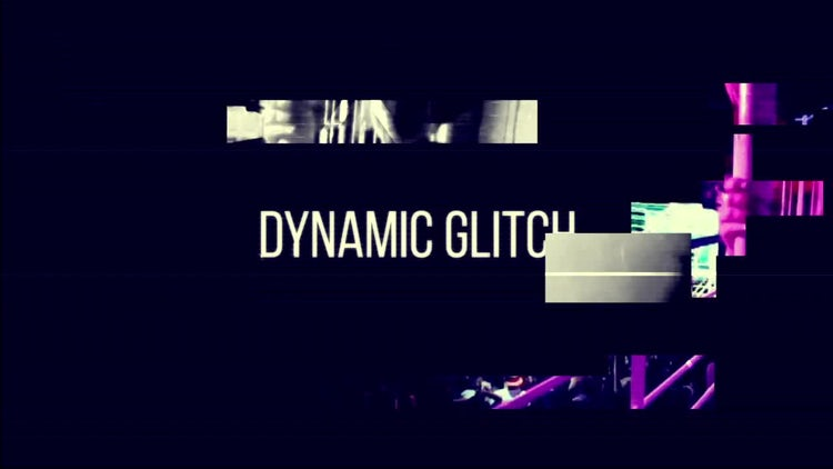 Digital Glitch: After Effects Templates